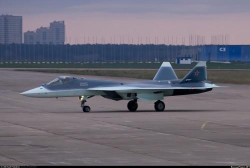 Su T 50 PAK FA -5 2